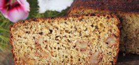 Pão de cenoura de liquidificador