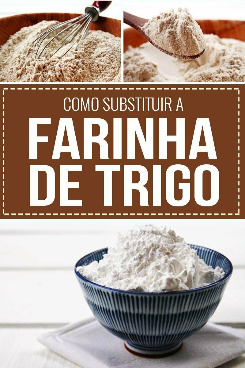 Como substituir farinha de trigo das receitas tradicionais por farinhas sem glúten