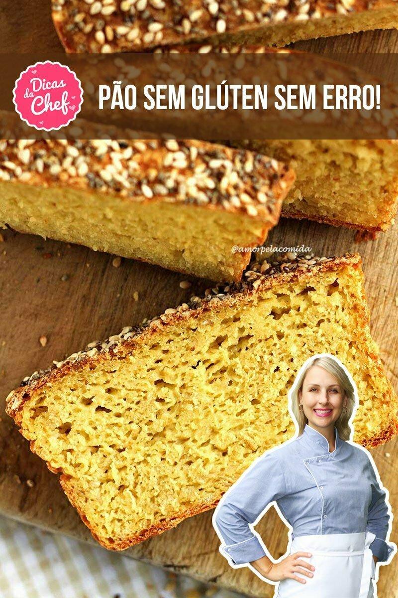Confira dicas para fazer pão sem glúten e sem erros já na primeira tentativa!